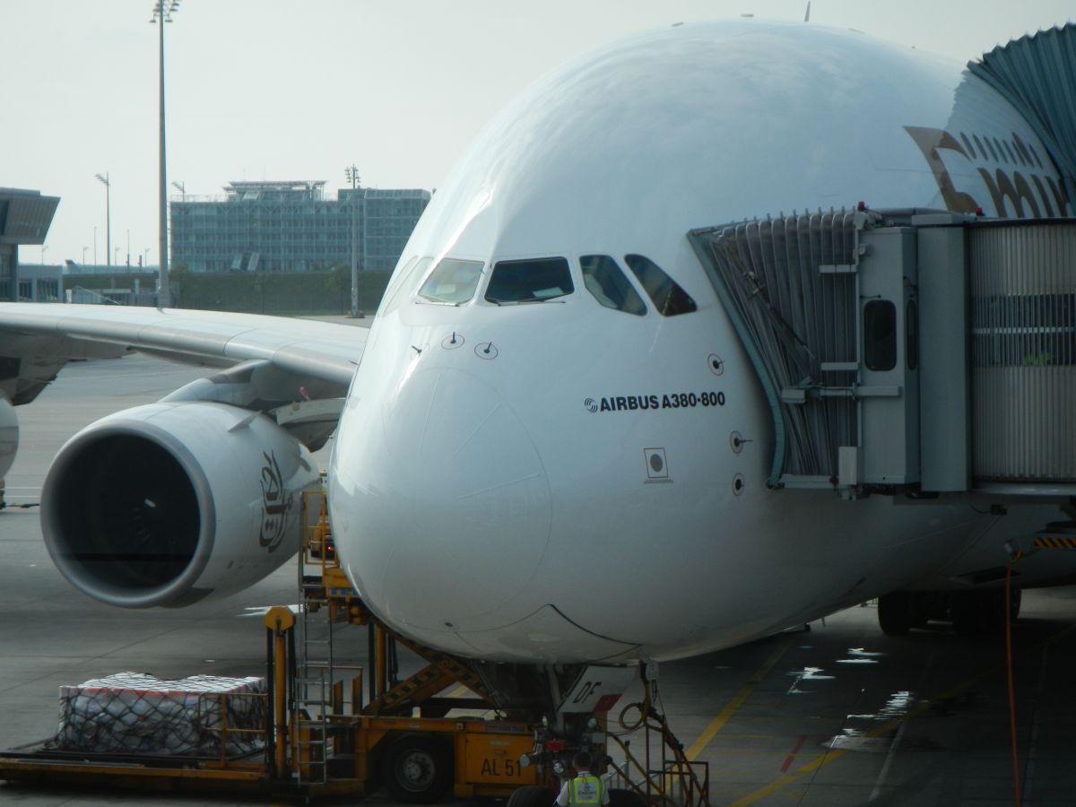 Airbus A380 zum Thema Flugpreise