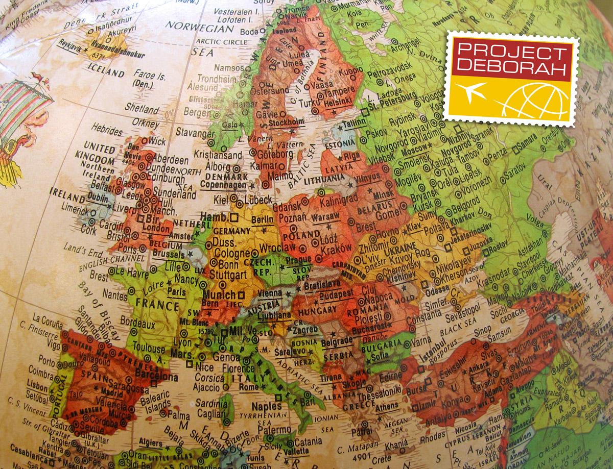 Globus - Dort waren wir bereits überall.